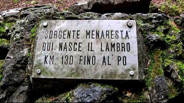 Sorgente del fiume Lambro