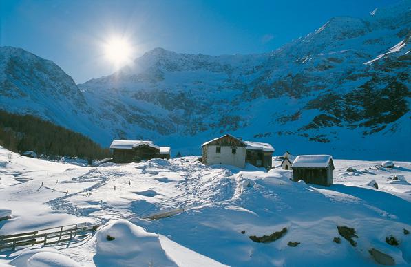 Panorama innevato Alto Adige