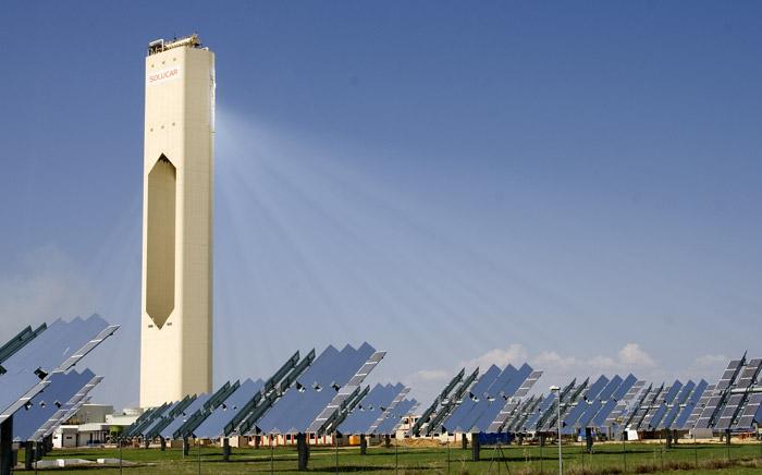 Centrale solare a specchi Solucar